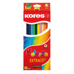 Artículos Escolares - Kores colores triangulares