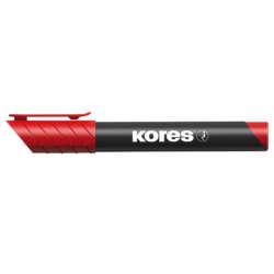Artículos Escolares y de Oficina - Kores Marcador Permanente - Rojo