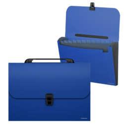 Artículos de Oficina - ErichKrause Archivador expandible con Asa A4 - Azul
