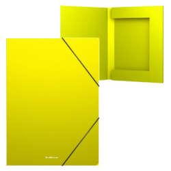 Artículos Escolares y de Oficina - ErichKrause Fólder tipo caja con Elástico A4 - Amarillo