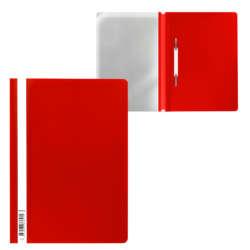 Artículos Escolares y de Oficina - ErichKrause Fólder plástico con Fastener T/C - Rojo