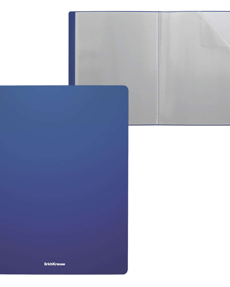 Artículos Escolares y de Oficina - ErichKrause Libro de presentación 40 H T/C - Azul