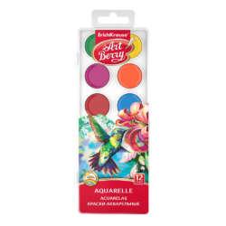 Arte - ErichKrause Set de acuarelas ArtBerry - 12 colores