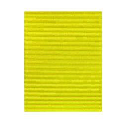 Artículos de Papelería - Fast Hoja de Cartón Corrugado con Glitter - Amarillo