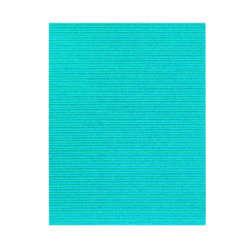 Artículos de Papelería - Fast Hoja de Cartón Corrugado con Glitter - Celeste