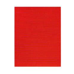 Artículos de Papelería - Cartón Corrugado - Glitter - Rojo
