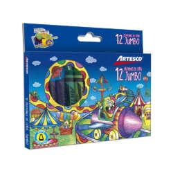 Artículos Escolares - Artesco Crayones de cera Jumbo - 12 unidades