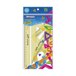 Artículos Escolares - Artesco Estuche Geométrico Irrompible - 20 cms