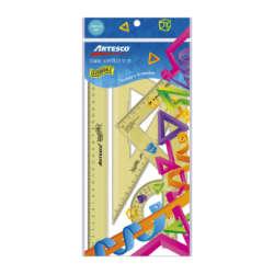 Artículos Escolares - Artesco Estuche Geométrico Irrompible - 30 cms