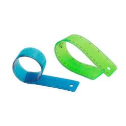 Artículos Escolares - Fast Regla de Plástico Flexible - 30 cms