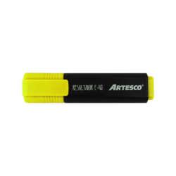 Artículos Escolares y de Oficina - Artesco Resaltadores fluorescentes E-48 - Amarillo