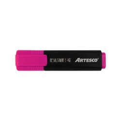 Artículos Escolares y de Oficina - Artesco Resaltadores fluorescentes E-48 - Rosado