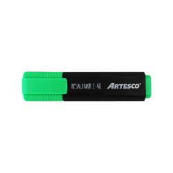 Artículos Escolares y de Oficina - Artesco Resaltadores fluorescentes E-48 - Verde