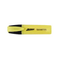 Artículos Escolares y de Oficina - Artesco Resaltadores Pasteles - Amarillo