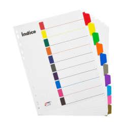 Artículos de Oficina y de Papelería - Fast Separadores - 10 divisiones