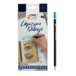 Arte - Fast Set de 12 Lápices para Dibujo