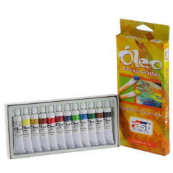 Arte - Fast Set de Pinturas al Oleo - 12 unidades
