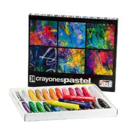 Arte - Fast Set de Yeso Graso Pastel - 24 unidades