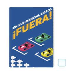 Cuadernos - Conquistador Cuaderno Engrapado Dobleraya Motivo - 100 págs