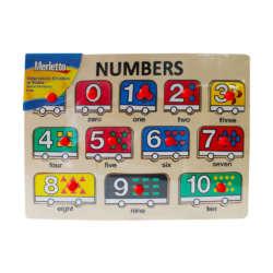 Artículos Escolares - Merletto Rompecabezas Numbers