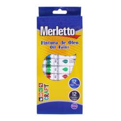 Arte - Merletto Set de Pinturas al Óleo - 12 unidades