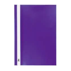 Artículos Escolares y de Oficina - Conki Folder Plástico Con Fastener T/Oficio - Morado