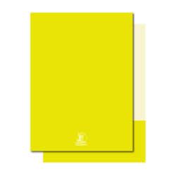 Artículos de Papelería - Conquistador Folder con Solapa T/Carta - Amarillo