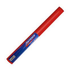 Artículos Escolares y de Oficina - Artesco Forro Plástico Autoadhesivo 1.5 mts - Rojo