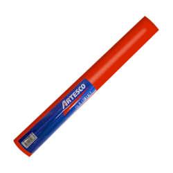 Artículos Escolares y de Oficina - Artesco Forro Plástico Autoadhesivo 3.0 mts - Rojo