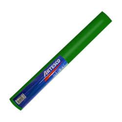 Artículos Escolares y de Oficina - Artesco Forro Plástico Autoadhesivo 3.0 mts - Verde oscuro
