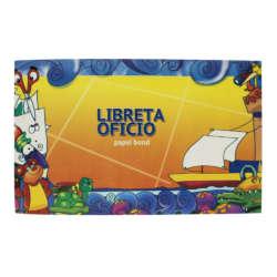 Artículos de Papelería - Conquistador Libreta para Dibujo y Recorte c/fastener - T/Oficio