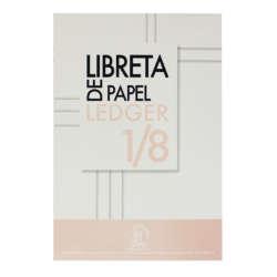 Artículos de Papelería y Cuadernos - Conquistador Libreta de Papel Ledger 1/8
