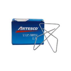 Artículos de Oficina - Artesco Clips Mariposa 65 mm - 50 unidades