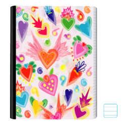 Cuadernos - Conquistador Cuaderno Cosido #11 Rayado Motivo - 200 págs