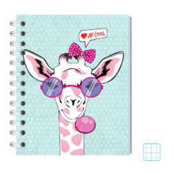 Cuadernos - Conquistador Cuaderno Doble Espiral #11 Motivo - Cuadro (8mm)