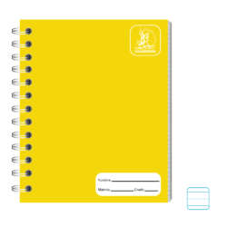 Cuadernos - Conquistador Cuaderno Doble Espiral #11 Color 70 H - Rayado