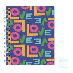 Cuadernos - Conquistador Cuaderno Doble Espiral #11 Motivo - Rayado