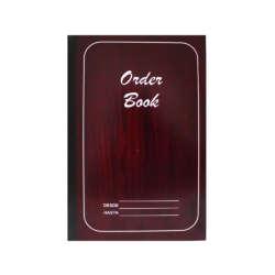 Artículos de Papelería y Cuadernos - Conquistador Order Book - 120 págs