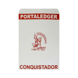Artículos de Papelería y de Oficina - Conquistador Porta-Ledger 1/8