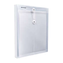 Artículos de Oficina - Artesco Sobre Vertical c/pasador Oficio - Transparente