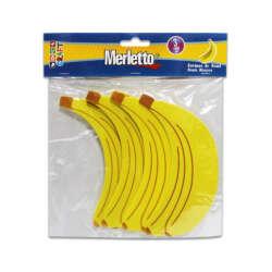 Artículos Escolares - Merletto Set de 3 Figuras de Foamy - Bananas