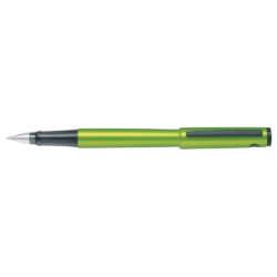 Artículos Escolares y de Oficina - Pilot Bolígrafo Explorer Verde Limón Metálico - Azul