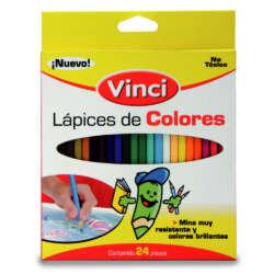 Vinci Lapices de Colores - 24 unidades