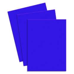 Artículos de Papelería - Conki Hoja de Foamy T/Carta - Azul Fuerte