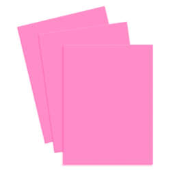Artículos de Papelería - Conki Hoja de Foamy T/Carta - Rosa