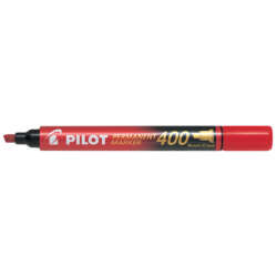 Artículos Escolares y de Oficina - Pilot Marcador Permanentes SCA P-400 - Rojo
