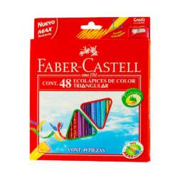 Artículos Escolares y Arte - Faber-Castell Lapices de Colores - 48 unidades