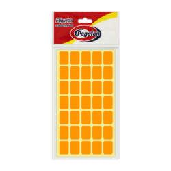 Artículos Escolares y de Oficina Pegafan Etiquetas 13 mm x 19 mm - Naranja Fluor