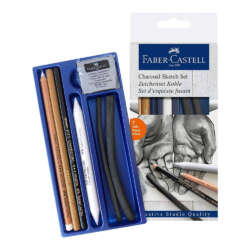 Arte - Faber-Castell Set de Dibujo Goldfaber Carbón