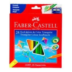 Artículos Escolares y Arte - Faber-Castell Lapices de Colores - 24 unidades